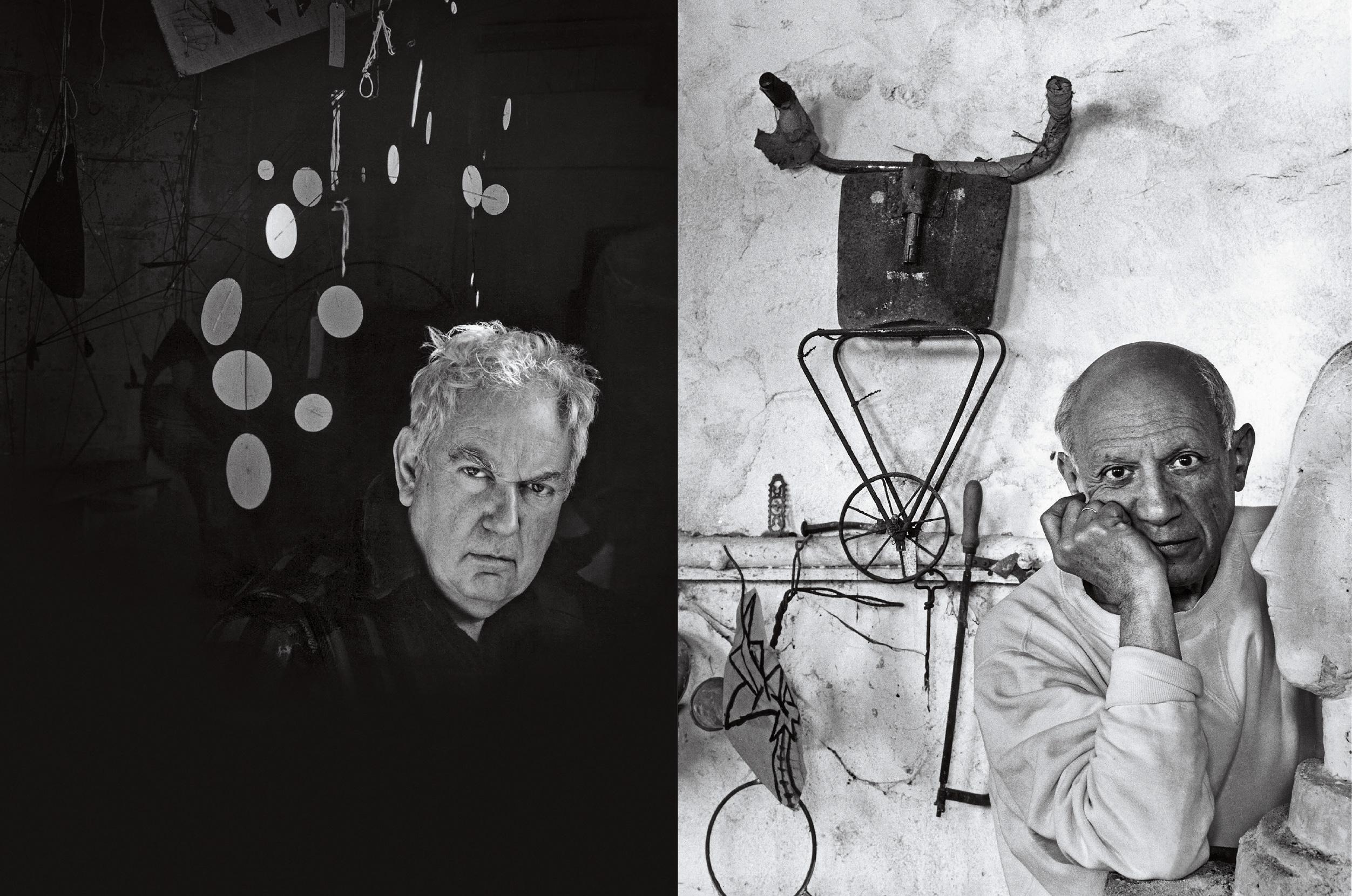 Newman - Calder e Picasso