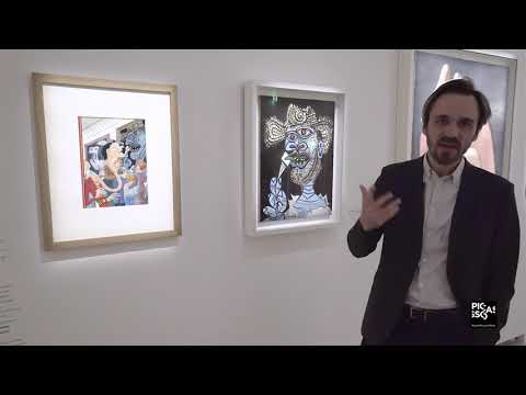 """Visite de l'exposition """" Picasso et la bande dessinée"""" avec le co-commissaire    Musée Picasso-Paris"""
